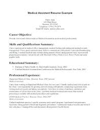 Administrative Assistant Skills Amazing Medical Administrative Assistant Resume Letter Resume Directory