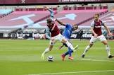 West Ham`s injury woes continue to mount as Aaron Cresswell limps off vs Leicester