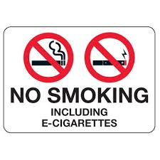 No Smoking Signage No Smoking Signs No Smoking E Cigarettes Seton