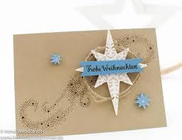 Stampinup Sternenzauber Weihnachtsstern Weihnachtskarte