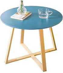 side table round coffee table wood