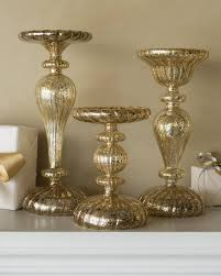 gold mercury candle holders. Beautiful Holders LED Mercury Glass Candle Holders Main Alt   Throughout Gold 0