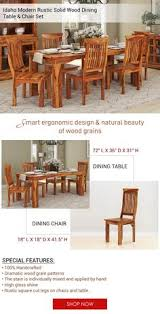 celebrate the natural beauty of wood grain with a smart ergonomic design with the idaho modern sierra living concepts