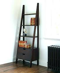 ladder style bookshelf ladder style shelf ladder style bookshelf bedroom shelf corner book shelves bookshelves black