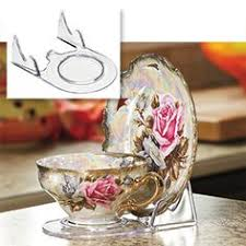 Cup And Saucer Display Stands Cup and Saucer Holders Home Accents Tea Cup and Saucer Stand 27
