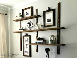 diy industrial style shelving with simpson strong tie 3
