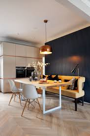 furniture for flats. mwai adds copper fixtures and marble surfaces to london flat furniture for flats