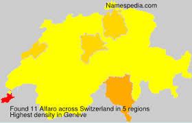 Alfaro - Names Encyclopedia