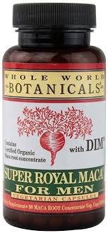 Whole World Botanicals Super Royal Maca for Men ... - Amazon.com