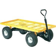 gorilla garden cart poly carts dump australia