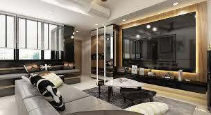 mucarpentry st patrick condo living room 3d design option 1 renovation works singapore