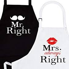 Mr. Right and Mrs. Always Right 2-Piece Kitchen ... - Amazon.com