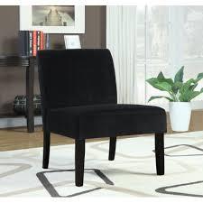 cute black accent chair
