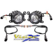 Vision X Global Lighting Systems Vision X Lighting 13 15 Jeep Jk X Fog Light Kit With Xil