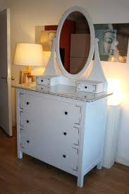 hemnes 3 drawer chest stunning drawers with vanity mirror and glass top dimensions