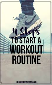 4 steps to start an exercise routine