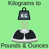 Kilograms To Pounds And Ounces Chart Kilograms To Stones Pounds And Ounces Weight Converter