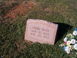 Addie Wade (1894-1974) - Find A Grave Memorial