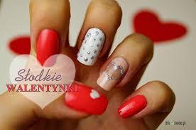 Znalezione obrazy dla zapytania Walentynki inspiracje paznokcie