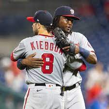 Washington Nationals on the approaching ...