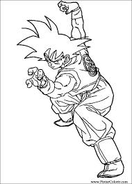 Tekeningen Te Schilderen Kleur Dragon Ball Z Print Design 065