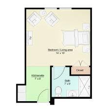 Floor Plans  Alaska Premier Senior Living Community  Baxter Assisted Living Floor Plan