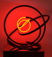 Neon Transformer Sizing Chart Red Neon Orb By Mark Beattie Buy Affordable Art Online