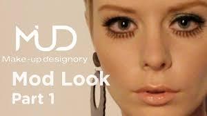 1960 s twiggy makeup tutorial part 1 make up