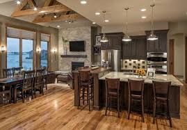 Small Picture Rustic Modern Lake House Transitional Kitchen Omaha by