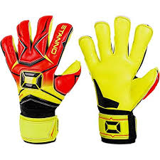 Amazon Com Stanno Hardground Hybrid Goalkeeper Gloves Size