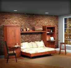 s bookcase wall bed bifold murphy plans
