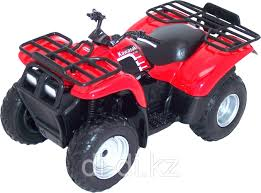 Игрушка <b>модель квадроцикла</b> 1:19 Kawasaki, цена 3100 Тг ...