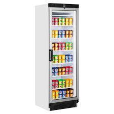 upright glass door 230v off ufg1380 freezer