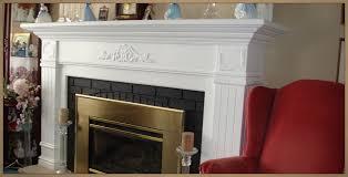 custom mantels painted wood fireplace mantel surround