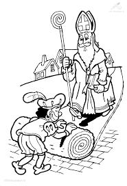 Kleurplaat Sinterklaas Sint Kleurplaat Sinterklaas