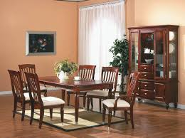 Cherry Finish Traditional 5Pc Dining Room Set w/Optional Items