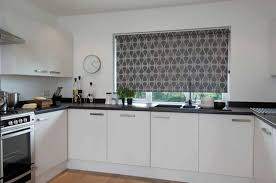 Kitchen Smartness Design Kitchen Roller Blinds Fabric Opaque Gallery Uk  Patterned Amazon Made To Measure Argos