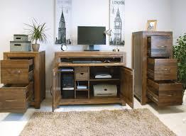 hideaway office furniture. Linea Solid Walnut Home Furniture Hideaway Hidden Office PC Computer  Desk