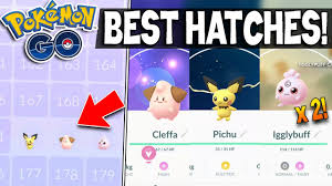 DOUBLE IGGLYBUFF, CLEFFA & PICHU HATCHES + Smoochum! Best Gen 2 Egg  Hatchings EVER In Pokemon GO! - YouTube