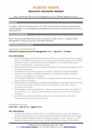 Actuary Job Description Delectable Actuarial Analyst Resume Samples QwikResume