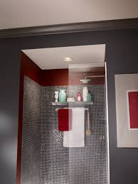 recessed lighting over shower. add a stylish recessed light and ventilation to your bathroom view larger lighting over shower