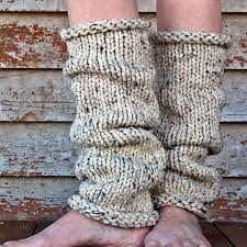 Leg Warmer Knitting Pattern Interesting INSIGHT Women's Leg Warmer Knitting Pattern Brome Fields