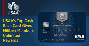 top unlimited cash back option for military members usaa s preferred cash rewards visa signature