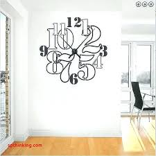 wall decals clock beautiful number white black red real sticker decal large bird vinyl art st bird wall stickers