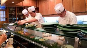 Sushi Cook Japans Craftsmanship Goes Global A Japanese Sushi Chef A