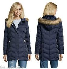 Kenneth Cole Reaction Navy Chevron Quilt Down Coat Jacket Faux Fur ... & Image is loading Kenneth-Cole-Reaction-Navy-Chevron-Quilt-Down-Coat- Adamdwight.com