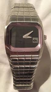 quiksilver rubix metal men s watch needs new battery surfun selling this fantastic quiksilver rubix metal men s stainless steel watch the watch has been well looked after but has some minor surface scratches and the