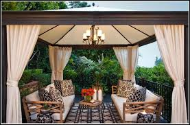innovative outdoor gazebo with curtains ideas with how to make outdoor curtains for gazebo page home