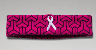 under armour breast cancer. under armour power in pink sweatband, $13 breast cancer b