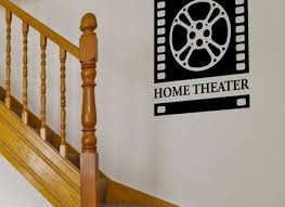 Small Picture Home Theater Decor Movie Reel And Film 21 By Sayitallonthewall